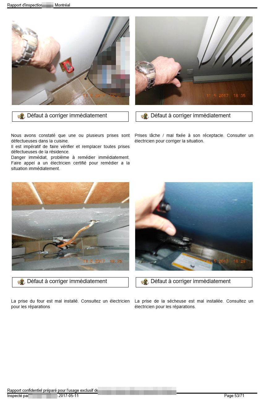 Faire vérifier le système électrique de la maison et du garage vous protège.