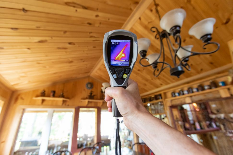 camera thermique inspection montreal